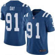 Wholesale Cheap Nike Colts #91 Sheldon Day Royal Blue Team Color Youth Stitched NFL Vapor Untouchable Limited Jersey
