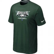 Wholesale Cheap Nike Philadelphia Eagles Big & Tall Critical Victory NFL T-Shirt Dark Green