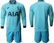 Wholesale Cheap Tottenham Hotspur Blank Third Long Sleeves Soccer Club Jersey