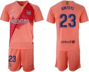Wholesale Cheap Barcelona #23 Umtiti Third Soccer Club Jersey