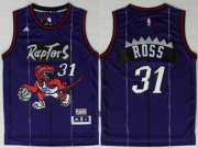 Wholesale Cheap Toronto Raptors #31 Terrence Ross Hardwood Classic Purple Swingman Jersey