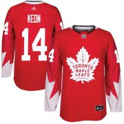 Wholesale Cheap Adidas Maple Leafs #14 Dave Keon Red Team Canada Authentic Stitched NHL Jersey