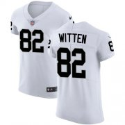 Wholesale Cheap Nike Raiders #82 Jason Witten White Men's Stitched NFL New Elite Jersey