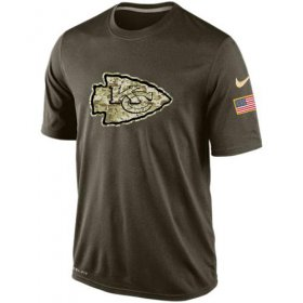 Wholesale Cheap Men\'s Kansas City Chiefs Salute To Service Nike Dri-FIT T-Shirt