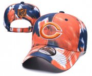 Wholesale Cheap Bears Team Logo Orange Peaked Adjustable Fashion Hat YD