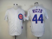 Wholesale Cubs #44 Anthony Rizzo White Cool Base Stitched Baseball Jersey