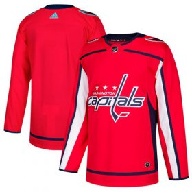 Wholesale Cheap Adidas Capitals Blank Red Home Authentic Stitched Youth NHL Jersey