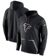 Wholesale Cheap Men's Atlanta Falcons Nike Black Champ Drive Vapor Speed Pullover Hoodie