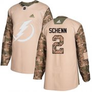 Cheap Adidas Lightning #2 Luke Schenn Camo Authentic 2017 Veterans Day Stitched NHL Jersey