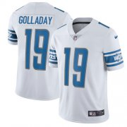 Wholesale Cheap Nike Lions #19 Kenny Golladay White Youth Stitched NFL Vapor Untouchable Limited Jersey