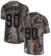Wholesale Cheap Nike Saints #90 Malcom Brown Camo Youth Stitched NFL Limited Rush Realtree Jersey