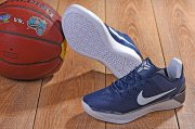Wholesale Cheap Nike Kobe 11 AD Shoes Dark Blue White