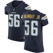 Wholesale Cheap Nike Chargers #56 Kenneth Murray Jr Navy Blue Team Color Men's Stitched NFL Vapor Untouchable Elite Jersey