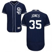 Wholesale Cheap Padres #35 Randy Jones Navy Blue Flexbase Authentic Collection Stitched MLB Jersey
