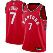 Wholesale Cheap Raptors #7 Kyle Lowry Red Basketball Swingman Icon Edition Jersey