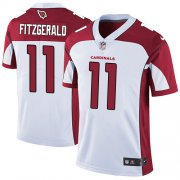 Wholesale Cheap Nike Cardinals #11 Larry Fitzgerald White Men's Stitched NFL Vapor Untouchable Limited Jersey