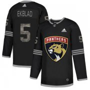 Wholesale Cheap Adidas Panthers #5 Aaron Ekblad Black Authentic Classic Stitched NHL Jersey