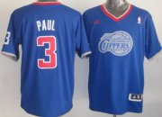Wholesale Cheap Los Angeles Clippers #3 Chris Paul Revolution 30 Swingman 2013 Christmas Day Blue Jersey
