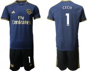 Wholesale Cheap Arsenal #1 Cech Away Soccer Club Jersey