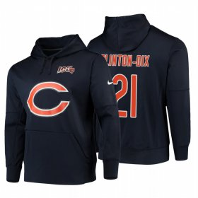 Wholesale Cheap Chicago Bears #21 Ha Ha Clinton-Dix Nike NFL 100 Primary Logo Circuit Name & Number Pullover Hoodie Navy