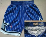 Wholesale Cheap Men's Orlando Magic #32 Shaquille O'neal 1994-95 Purple Hardwood Classics Soul Swingman Throwback Shorts