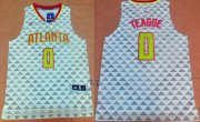 Wholesale Cheap Men's Atlanta Hawks #0 Jeff Teague Revolution 30 Swingman 2015-16 New White Jersey