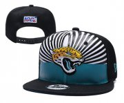 Wholesale Cheap Jaguars Team Logo Black 2019 Draft 100th Season Adjustable Hat YD