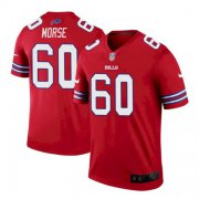 Wholesale Cheap Men's Buffalo Bills #60 Mitch Morse Stitched Vapor Untouchable Limited Player Red Jersey