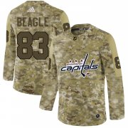 Wholesale Cheap Adidas Capitals #83 Jay Beagle Camo Authentic Stitched NHL Jersey