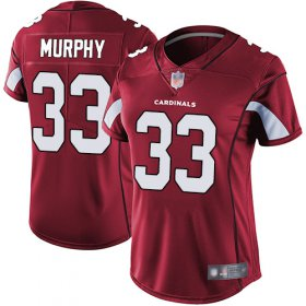 Wholesale Cheap Nike Cardinals #33 Byron Murphy Red Team Color Women\'s Stitched NFL Vapor Untouchable Limited Jersey