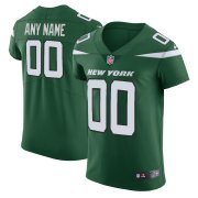 Wholesale Cheap Nike New York Jets Customized Gotham Green Stitched Vapor Untouchable Elite Men's NFL Jersey