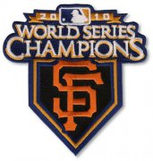 Wholesale Cheap Stitched 2010 San Francisco Giants MLB World Series Champions Jersey Patch