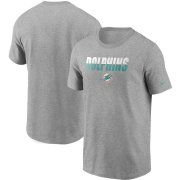 Wholesale Cheap Miami Dolphins Nike Split T-Shirt Heathered Gray