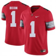 Wholesale Cheap Ohio State Buckeyes 1 Johnnie Dixon Red 2018 Spring Game College Football Limited Jersey