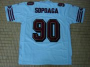 Wholesale Cheap 49ers Isaac Sopoaga #90 Stitched White NFL Jersey