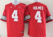 Wholesale Cheap Ohio State Buckeyes #4 Santonio Holmes 2015 Playoff Rose Bowl Special Event Diamond Quest Red Jersey