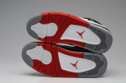 Wholesale Cheap Air Jordan 4 Retro Shoes white/red/black