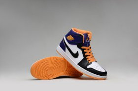 Wholesale Cheap Air Jordan 1 Retro Shoes Blue/orange-white-black