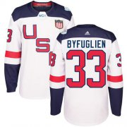 Wholesale Cheap Team USA #33 Dustin Byfuglien White 2016 World Cup Stitched Youth NHL Jersey