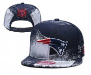 Wholesale Cheap Patriots Team Logo Navy White Adjustable Hat YD