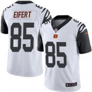 Wholesale Cheap Nike Bengals #85 Tyler Eifert White Men's Stitched NFL Limited Rush Jersey