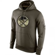 Wholesale Cheap Men's Buffalo Sabres Nike Salute To Service NHL Hoodie