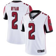 Wholesale Cheap Nike Falcons #2 Matt Ryan White Men's Stitched NFL Vapor Untouchable Limited Jersey