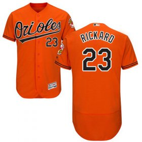 Wholesale Cheap Orioles #23 Joey Rickard Orange Flexbase Authentic Collection Stitched MLB Jersey