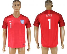 Wholesale Cheap England #1 Hart Away Soccer Country Jersey