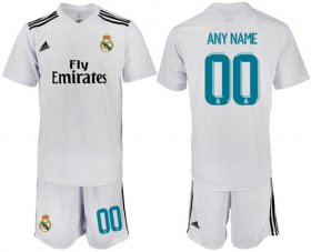 Wholesale Cheap Real Madrid Personalized Home Soccer Club Jersey