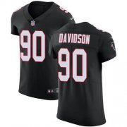 Wholesale Cheap Nike Falcons #90 Marlon Davidson Black Alternate Men's Stitched NFL New Elite Jersey