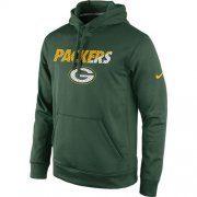 Wholesale Cheap Green Bay Packers Nike Kick Off Staff Performance Pullover Hoodie Green