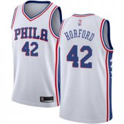 Wholesale Cheap 76ers #42 Al Horford White Basketball Swingman Association Edition Jersey