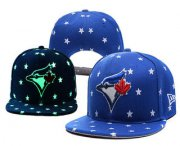 Wholesale Cheap MLB Toronto Blue Jays Snapback Ajustable Cap Hat 4